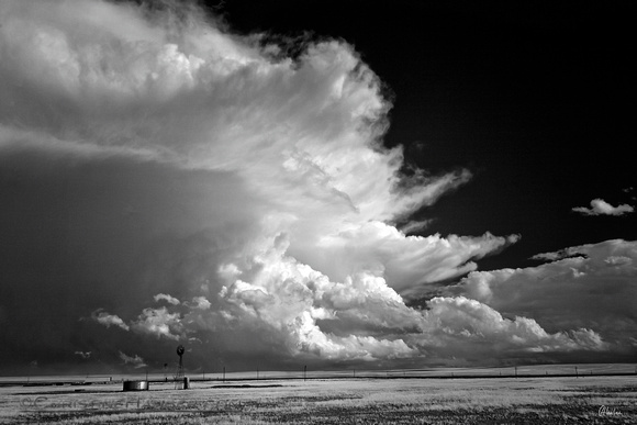 Thunderstorm and Windmills