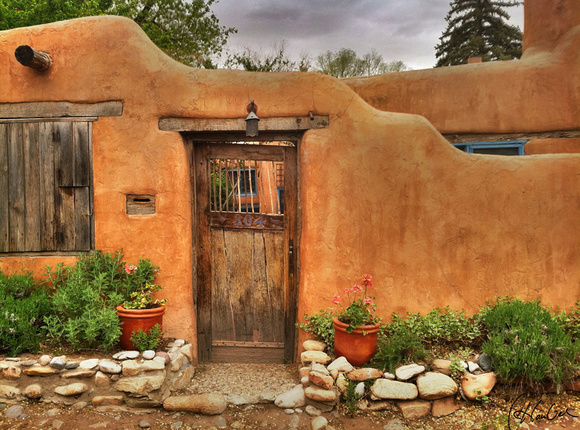 """This is the original iPhone capture of """"Santa Fe Wall"""""""